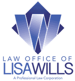 Law Office of Lisa Wills - stacked logo